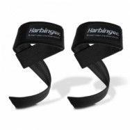 Big Grip Padded Lifting Straps, black, Harbinger
