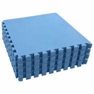 vidaXL Skyddsmatta 24 st 8,64 kvm EVA-skum blå