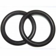 FitNord Plastic Gym Rings (Pair), Gymnastikringar