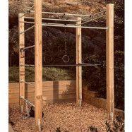 MUDDUS Wood Rig, Crossfit rig