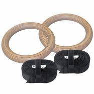 Titan Wood Gymrings. 2 pcs. Adjustable