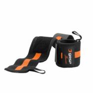 GASP 1RM Wrist Wraps 18'' - Black/Orange