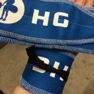 Hookgrip Wrist Wraps - Marinblå