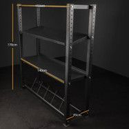 Thor Fitness Hyllsystem 170cm, Ställning