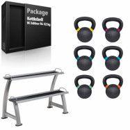 Paket Kettlebell BC Edition Järn 16-32 kg