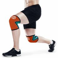 RX Knee Sleeve 5mm Orange/Teal