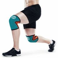 RX Knee Sleeve 5mm Teal/Orange