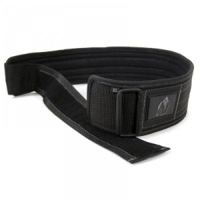 4 Inch Nylon Belt, black, Gorilla Wear