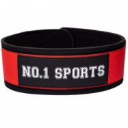 No.1 Sports Wod Belt Red - Large
