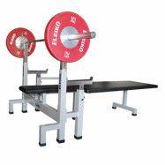 Eleiko IPC Powerlifting Bench Press - silver/black