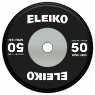 Eleiko WPPO Powerlifting Competition Disc, Viktskiva Gummerad