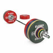 Eleiko WPPO Powerlifting Competition Set - 240,5 kg, Skivstångset