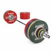 Eleiko WPPO Powerlifting Competition Set - 290,5 kg, Skivstångset