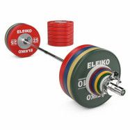 Eleiko WPPO Powerlifting Competition Set - 340,5 kg, Skivstångset