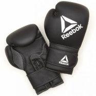 Reebok Retail 16 oz Boxing Gloves - Black/White