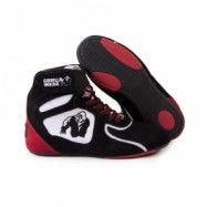 Chicago High Tops LTD, black/white/red, Gorilla Wear