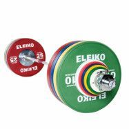 Eleiko IWF Weightlifting Training Set - 190 kg, men, RC