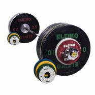 Eleiko Sport Training Set - 185 kg, women, black