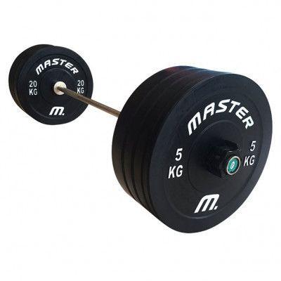 Master Skivstångsset Crossfit 100 kg