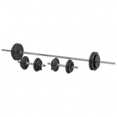 Master Fitness Viktset 50 kg, Skivstångset