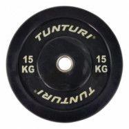Bumperviktskiva 15 kg, Tunturi