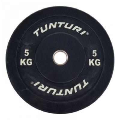 Bumperviktskiva 5 kg, Tunturi