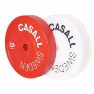 Casall Pro Olympic Technique Plate, Viktskiva Gummerad