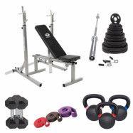 Master Fitness Home Kit Essential, Styrkepaket