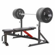 Master Fitness Maxi Styrkepaket, Skivstångställning komplett