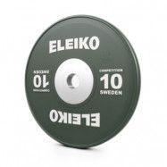 Viktskiva IWF Weightlifting Competition, 10 kg, grön, Eleiko