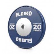 Viktskiva IWF Weightlifting Competition, 20 kg, blå, Eleiko