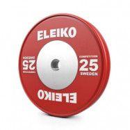 Viktskiva IWF Weightlifting Competition, 25 kg, röd, Eleiko