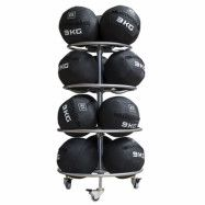 Master Fitness Rack Wallball, Ställning bollar